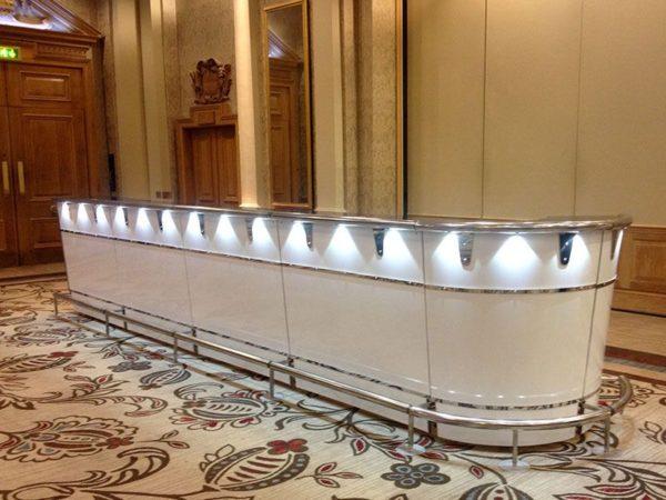 Complete LED Cash Bar