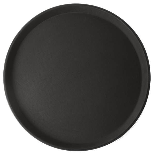 Round Rubber Serving Tray