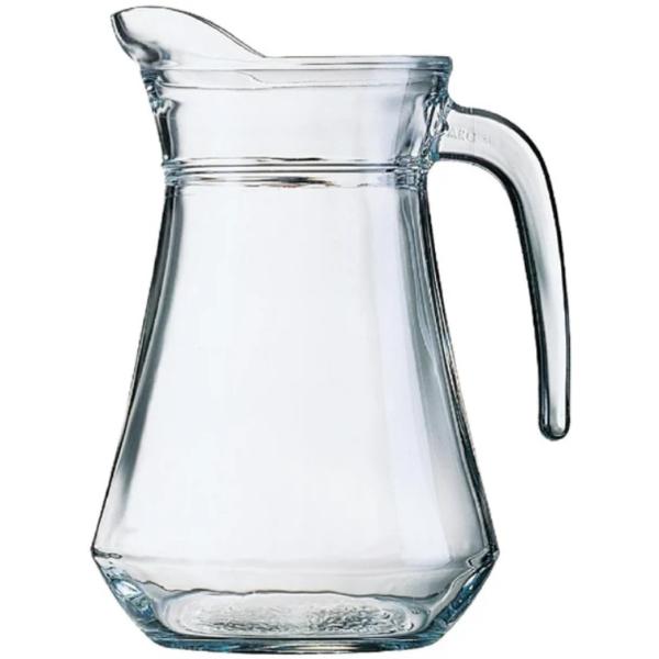 Clear Glass Water Jug