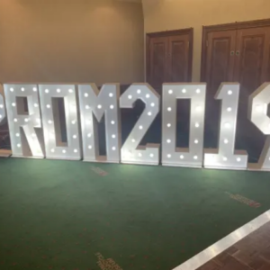 LED Letter Light Hire