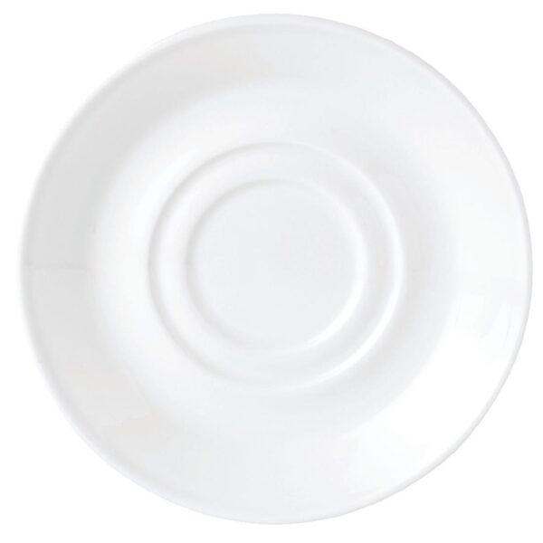 Utopia Bars - Simplicity Small White Saucer Hire