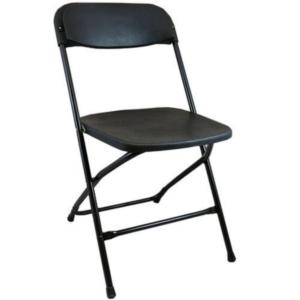 Utopia Bars Black Folding Chair Hire 1