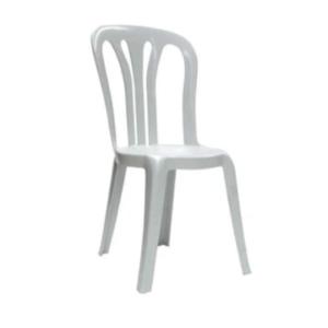 white classic bistro chair