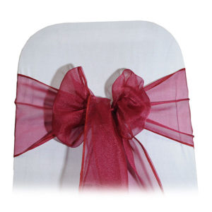 pre tied chair bows