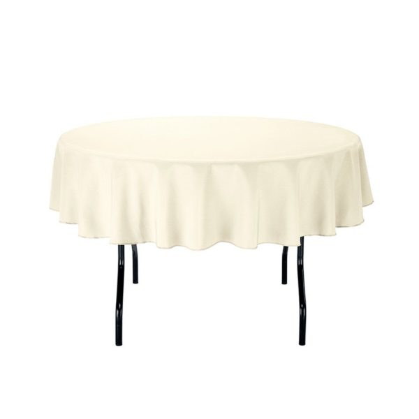 round table cloth party covers linen tablecloth