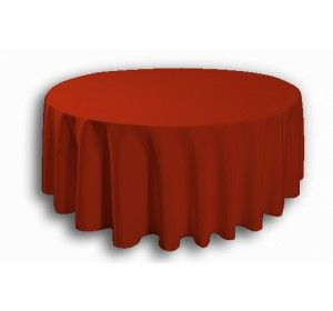 circular table linen modern round cloth red hire tablecloth