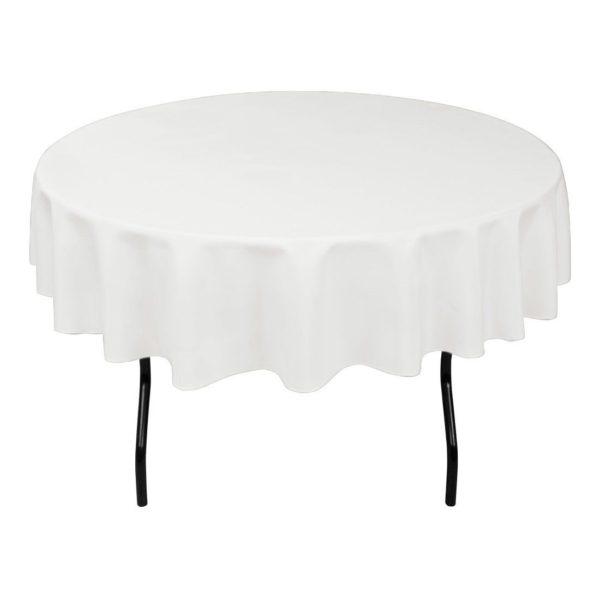 circular table cloth white linen circle tablecloth