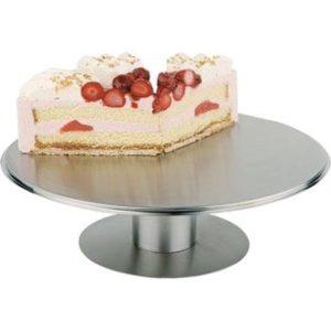 Round Rotating Cake Stand