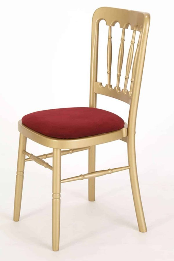 rustic banqueting chair