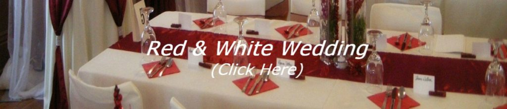 Red & White Wedding Inspiration