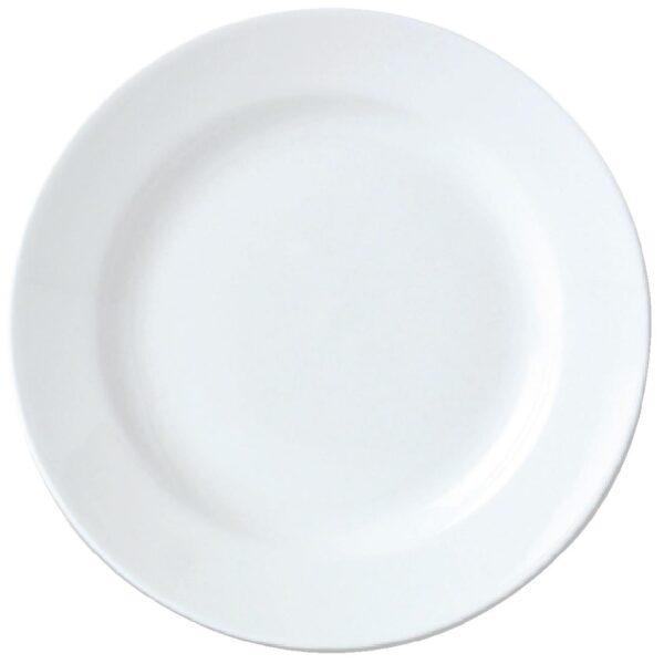 Rent White Dinner Plate Dessert