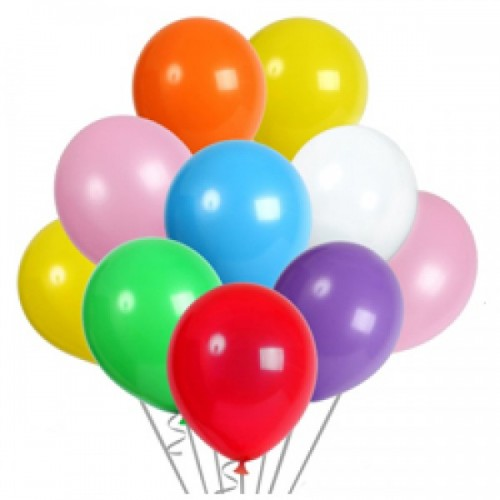 3 4 Helium Balloon Cluster Piece Package