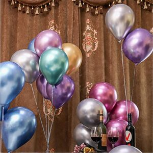Metallic Chrome Helium Balloon Hire